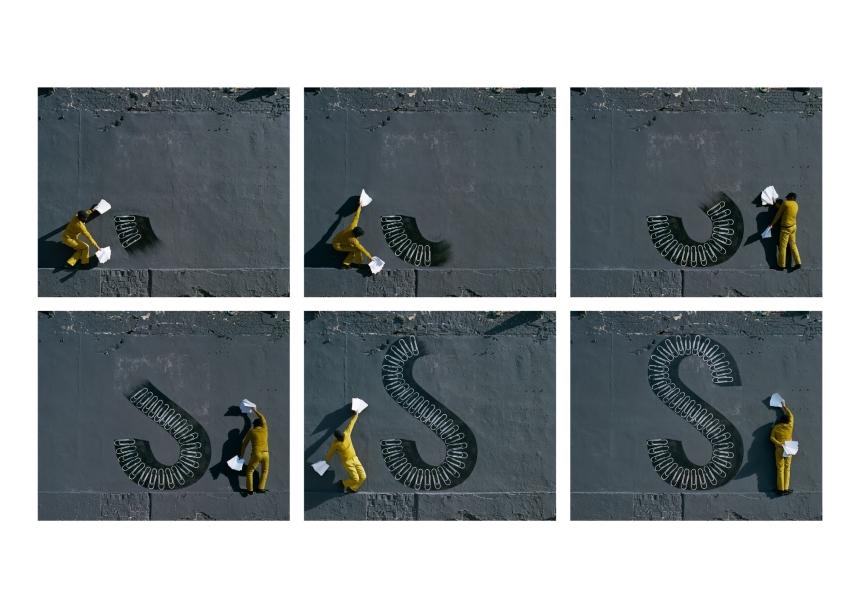 'S', 2014. Courtesy the artist and Lehmann Maupin.