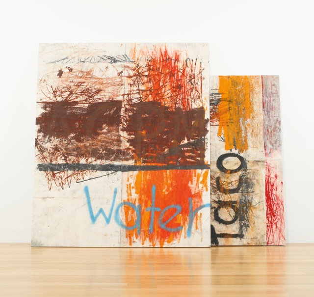 Oscar Murillo's, 'Untitled (Stack)', at Sotheby's Contemporary Art Auction, September 2013