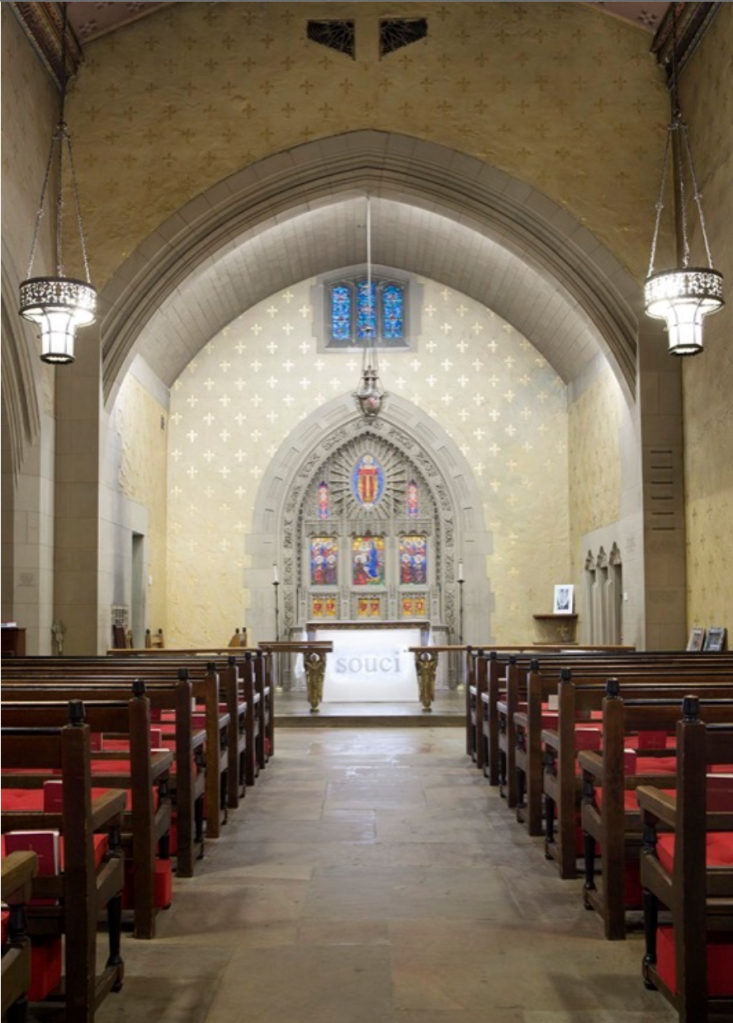 'Rachel, Monique' at The Episcopal Church of the Heavenly Rest New York (U.S.A.), 2014. Image Courtesy of Galerie Perrotin.