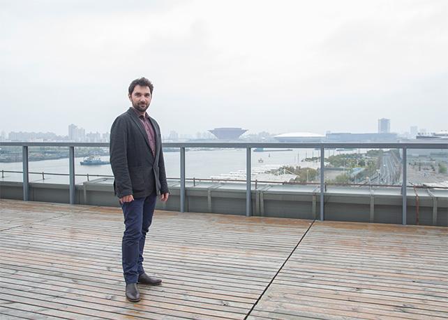 Anselm Franke at the Shanghai Biennale