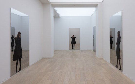 Installation view, Michelangelo Pistoletto, Partitura In Nero, at Simon Lee Gallery, Hong Kong. 13 March - 25 April 2015