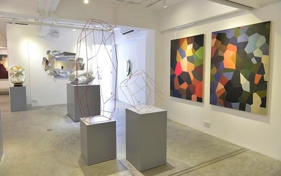Installation view, Arik Levy at Pékin Fine Arts, Hong Kong