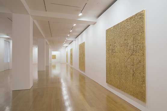 Installation view, 'Rudolf Stingel' at Gagosian Gallery Hong Kong, March 12 to May 9, 2015. Courtesy Gagosian Gallery.