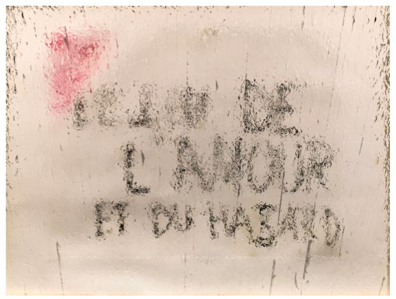 Gregor Hildebrandt, 'Coming by Hazard', 2014.  Courtesy Galerie Perrotin.