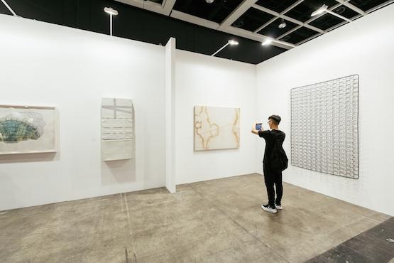Installation view, Edouard Malingue Gallery at Art Basel in Hong Kong 2015 Photo: © Anakin Yeung & Ocula