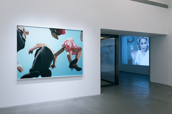 Installation view, Alex Prager at Lehmann Maupin, Hong Kong. 12 March - 12 May 2015