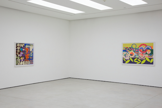 Installation view, Beatriz Milhazes at White Cube Hong Kong, 2015. Photo: Vincent Tsang. Courtesy White Cube