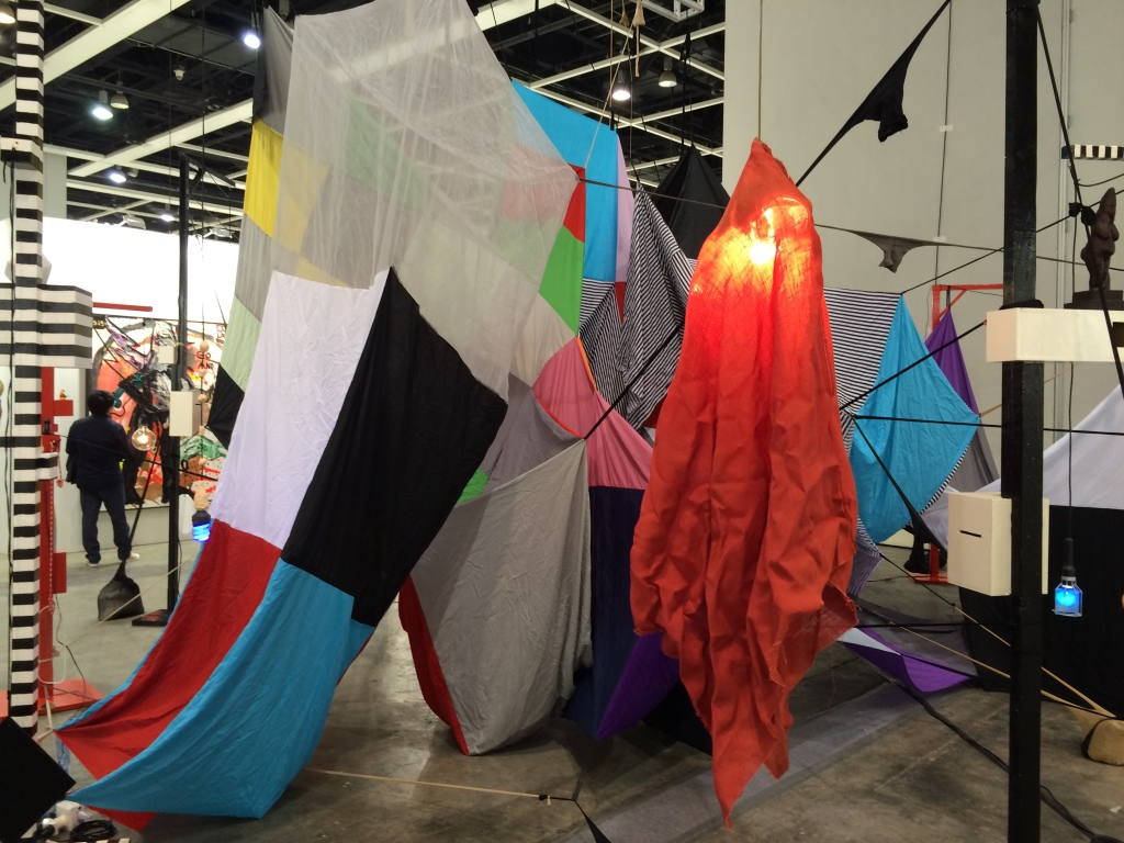 Mikala Dwyer, 'Square Cloud Compound', 2010. Encounters section, Art Basel Hong Kong, 2015