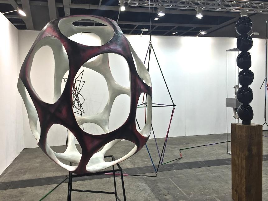 Eva Rothschild at Stuart Shave/Modern Art