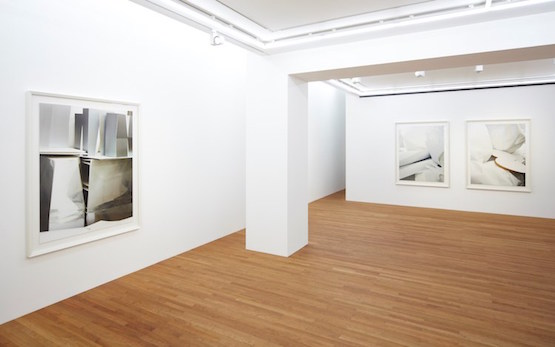 Installation view, Thomas Demand, Model Studies (Kōtō-ku), 2015 at Taka Ishii Gallery, Tokyo