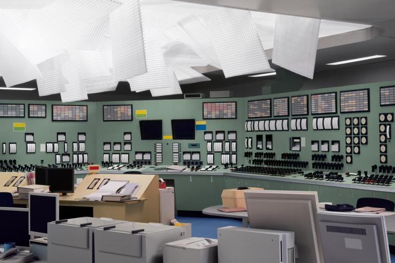Kontrollraum / Control Room 2011. Courtesy Taka Ishii Gallery, Sprüth Magers Berlin London, Esther Schipper, Berlin, Matthew Marks Gallery © Thomas Demand, VG Bild-Kunst, Bonn