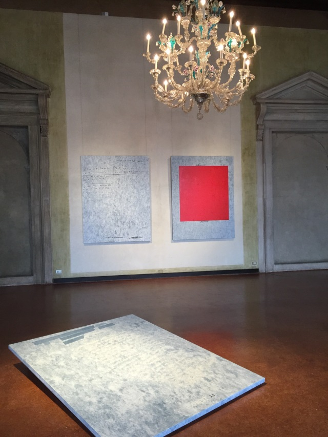 Jenny Holzer's 'War Paintings' exhibition at Museo Correr