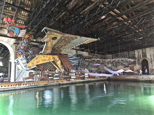 Xu Bing, 'Phoenix' at the Arsenale