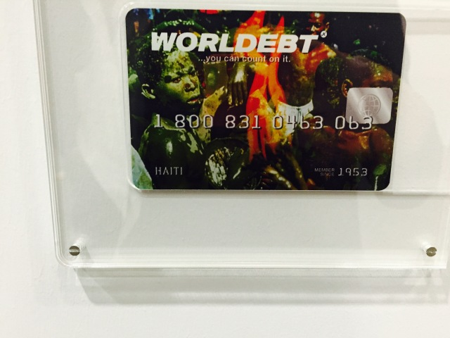 John Knight, 'Worldebt', 1994, at Art Basel Unlimited