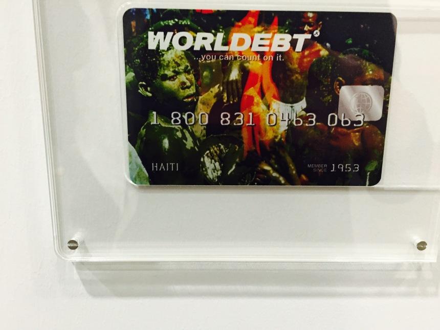 John Knight, 'Worldebt', 1994, at Art Basel Unlimited