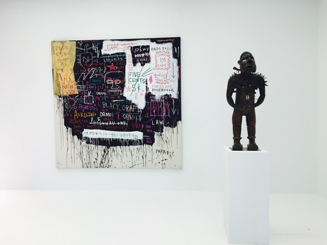 Jean Michel Basquiat at Art Basel
