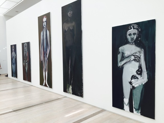 Marlene Dumas exhibition at Foundation Beyeler