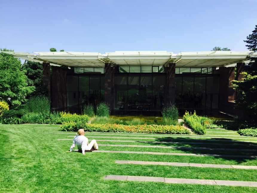 The Renzo Piano designed Fondation Beyeler museum.