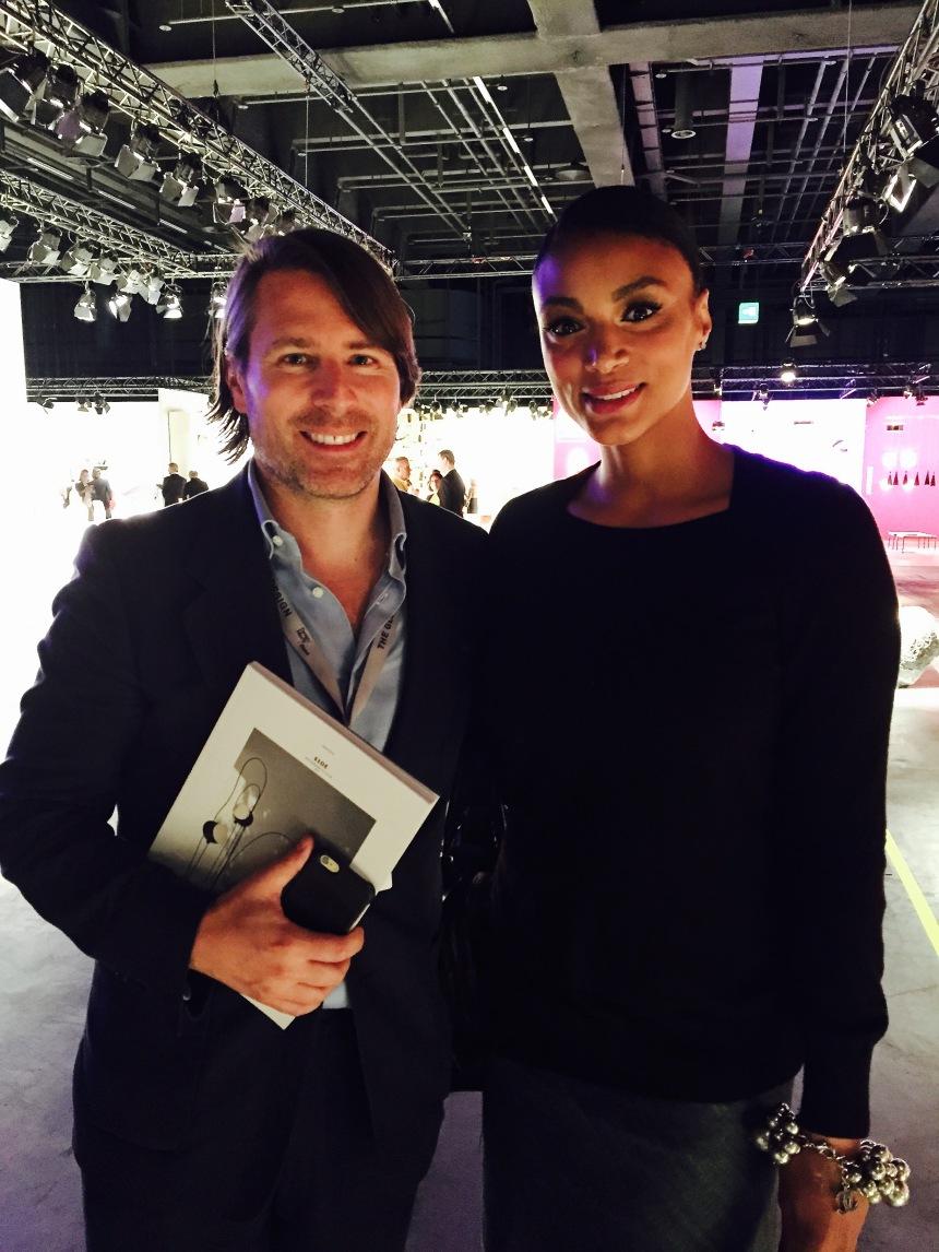 Design Miami director, Rodman Primack, at the VIP preview of Design Miami 2015