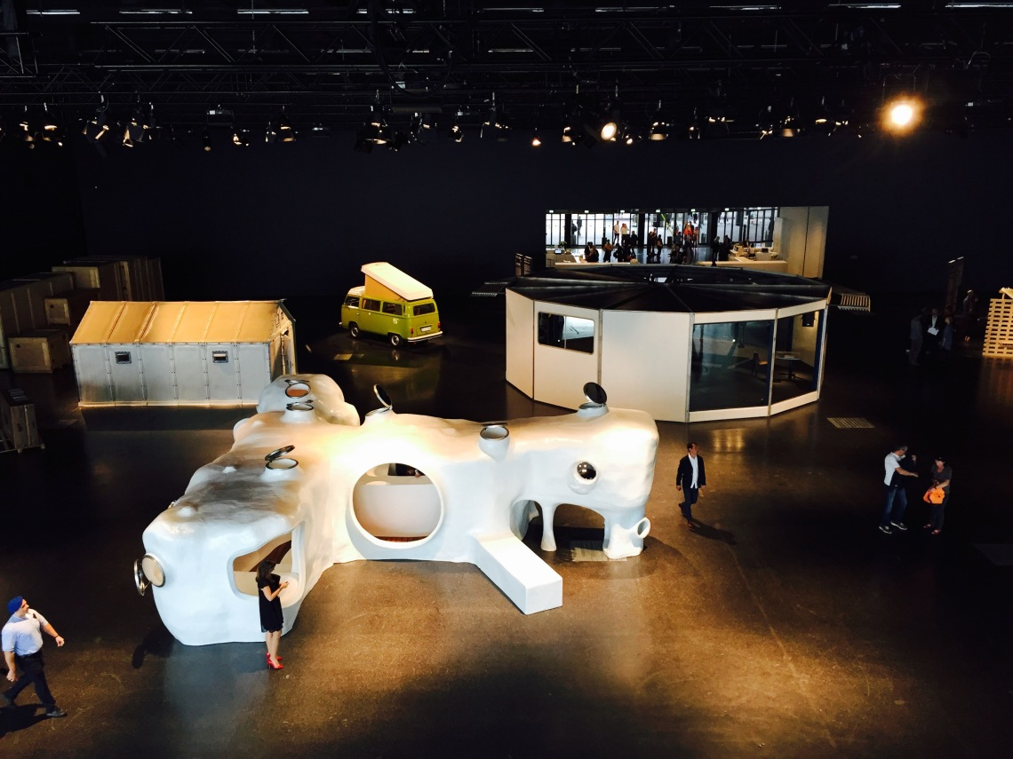 Design-at-large, curated by Andre Balazs, at Design Miami/Art Basel, 2015