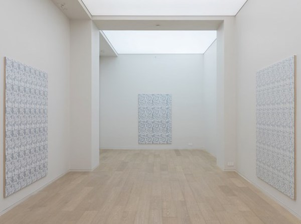 Installation view, Hugh Scott-Douglas at Simon Lee Gallery, Hong Kong. Image courtesy of Simon Lee Gallery and Kitmin Lee Photo.