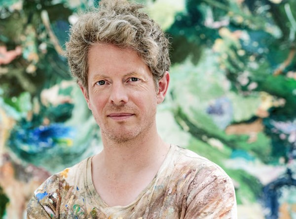 Matthias Weischer, 2015. Photo: Uwe Walter. Courtesy the artist and Lehmann Maupin, New York and Hong Kong.