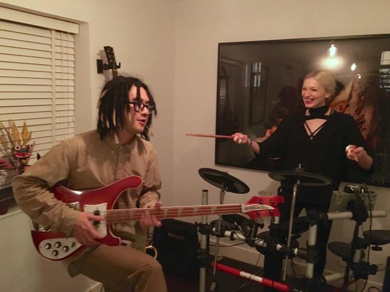 Rockin with Korakrit