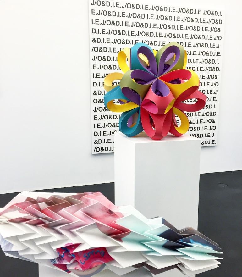 Tobias Rehberger at neugerriemschneider galerie