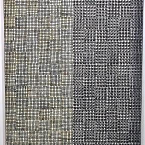 McArthur Binion at Lehmann Maupin and Massimo de Carlo Gallery,HK